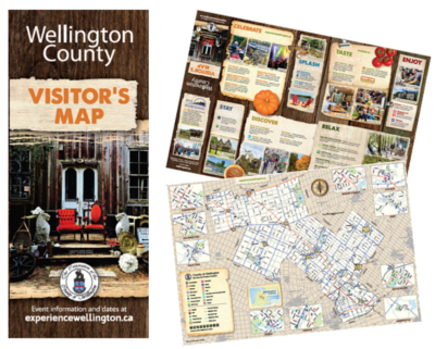 Wellington County Visitor's Map