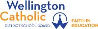 Wellington Catholic District School Board logo