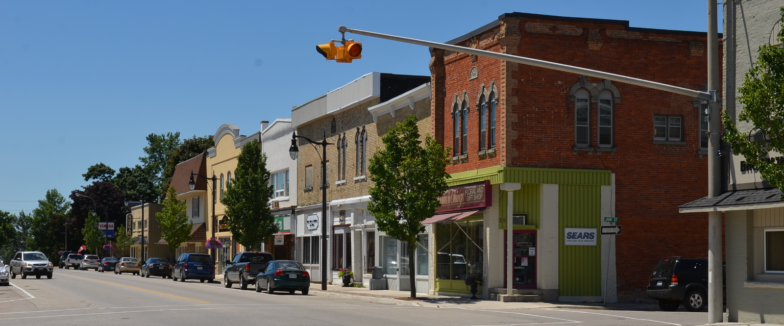 photo of downtown Palmerston