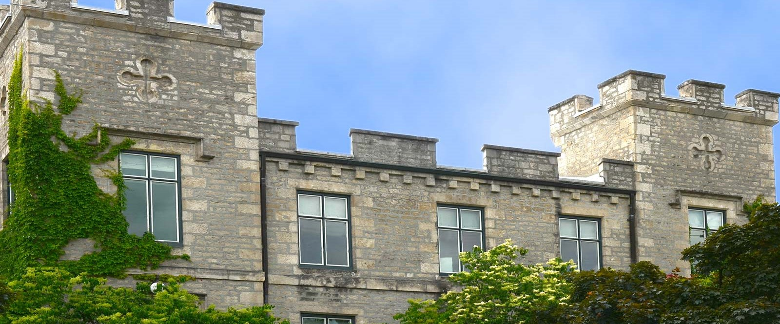 picture of County of Wellington Admin Centre castle roofline