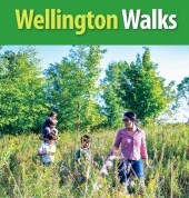 wellington walks trail guide cover with four people hiking
