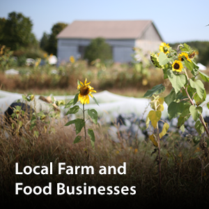 Visit our  Local Farm and Food Businesses page