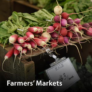 Visit our Farmers' Markets page