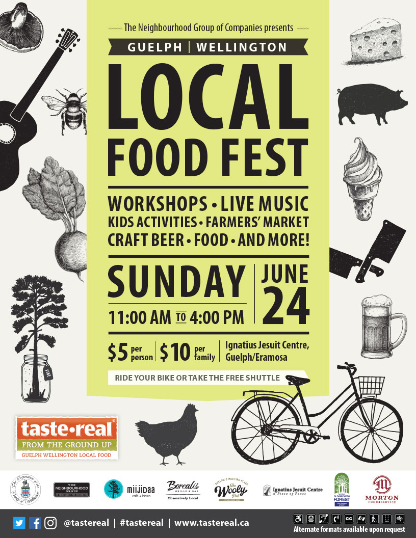 Local Food Fest poster