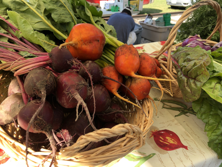 basket of beets