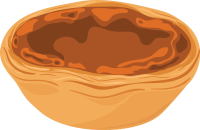 illustration of butter tart