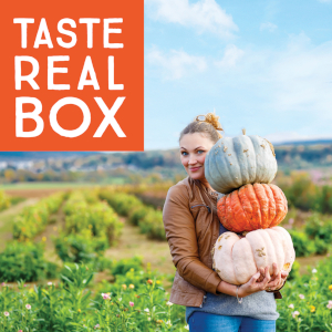 Taste Real Box featuring flavors from across Wellington County