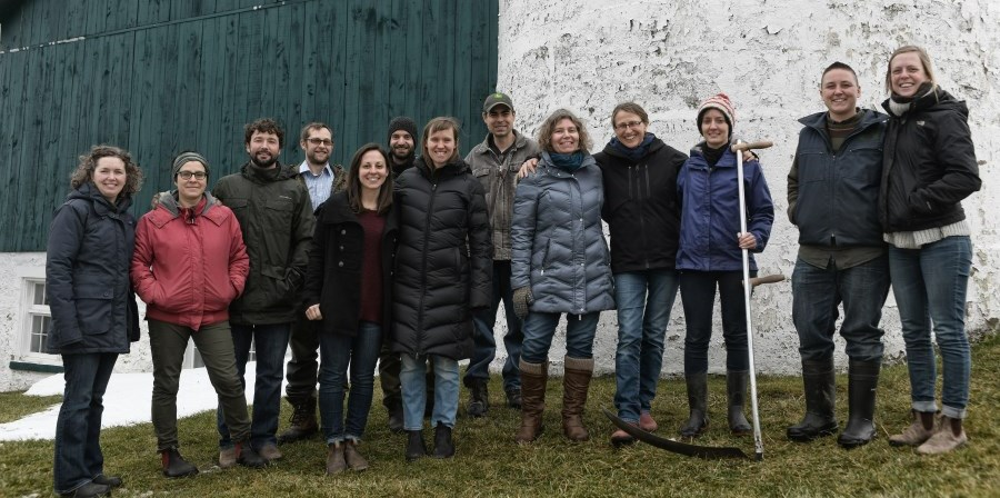 group of CSA farmers in Guelph and Wellington County