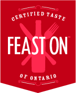 FEAST ON certified logo