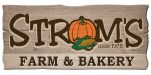 Strom's Farm and Bakery logo
