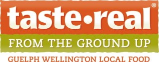 Taste Real Guelph Wellington logo