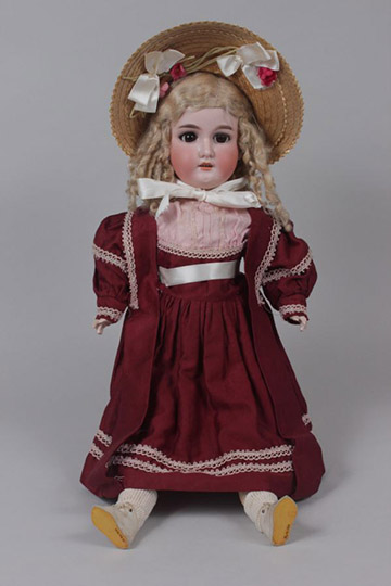 Follow link to the Eaton Beauty Doll page