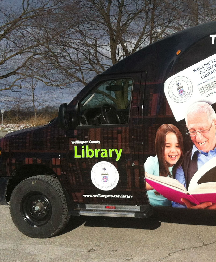 Library Courier Van