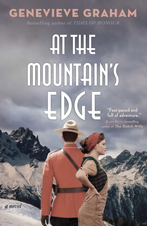 At the mountain's edge book cover