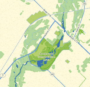Map of Rockwood