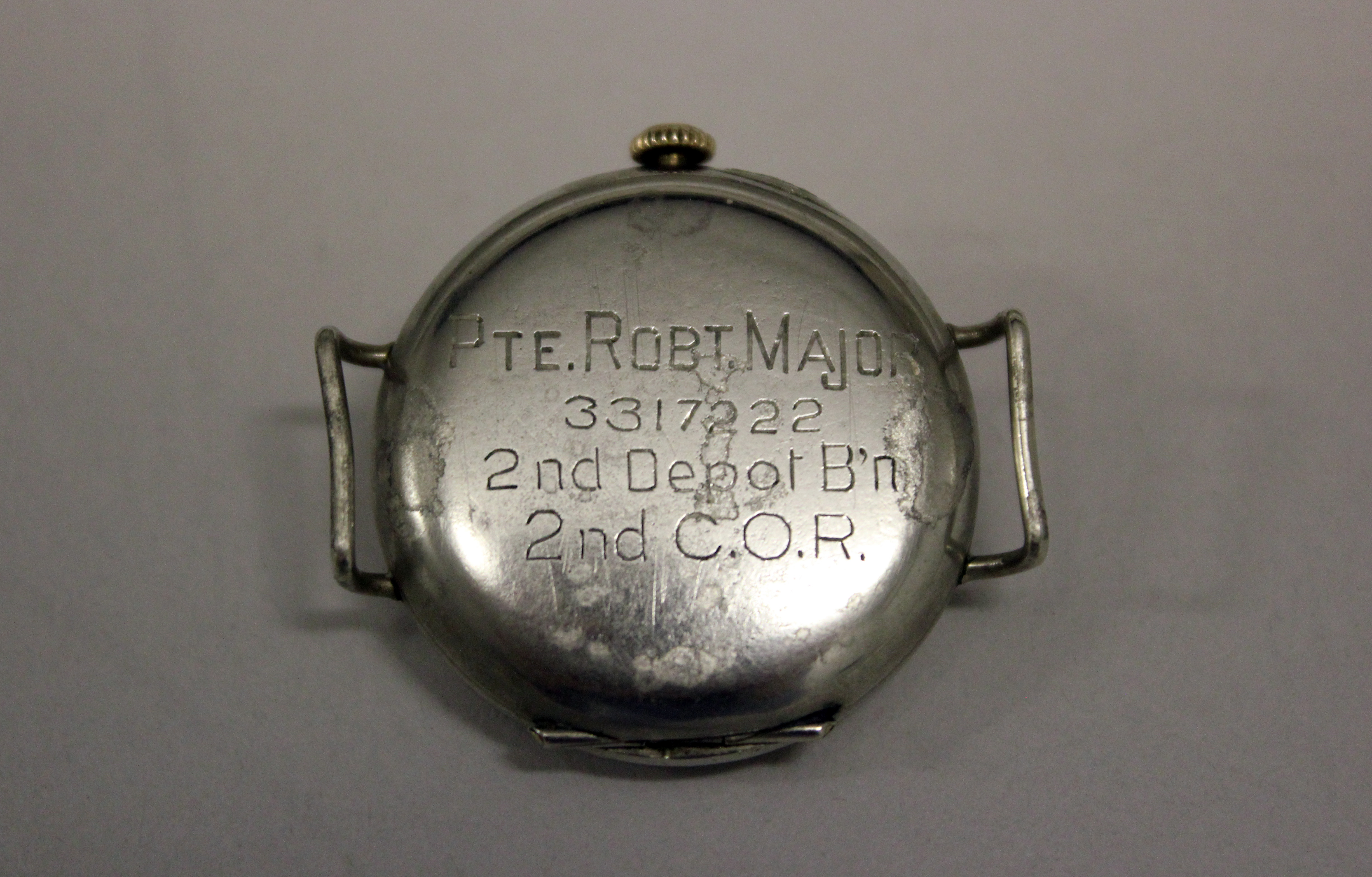 photograph of wristwatch