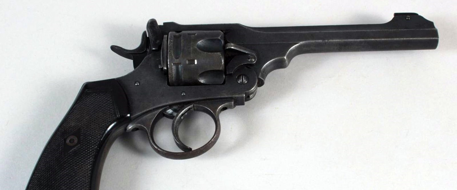 image of a revolver