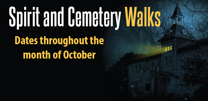 Spirit and Cemetery Walks at the Museum