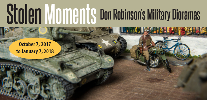 stolen moments banner image of a model diorama