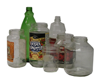 Acceptable Containers - Glass bottles