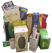 Acceptable Paper Products - cardboard boxes