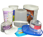 Acceptable Containers - Wide mouth containers and lids