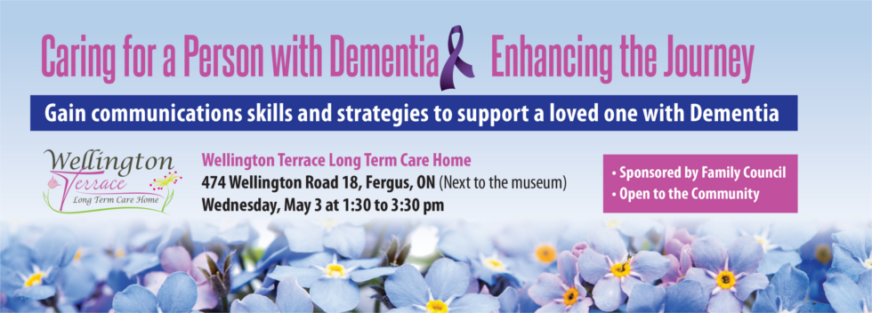 caring for a person with dementia