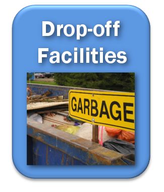 blue drop-off facilities button