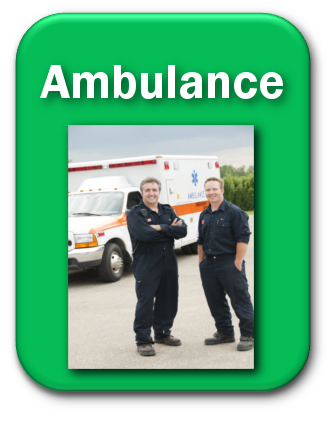 green ambulance button