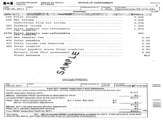 Delightful Tax Assessment Form . Child Care Fee Subsidy Wellington County